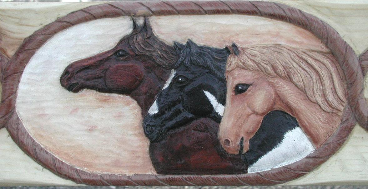Horse Mantel