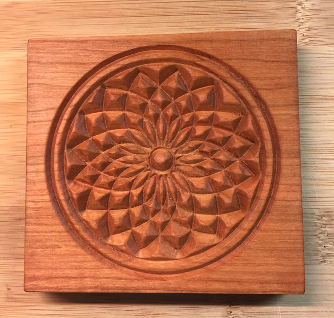 springerle cookie mold - Dahlia