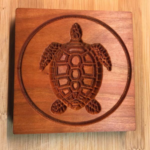 springerle cookie mold - turtle