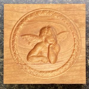 Springerle Cookie Mold - Cherub