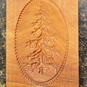 Springerle Cookie Mold - Fir Tree