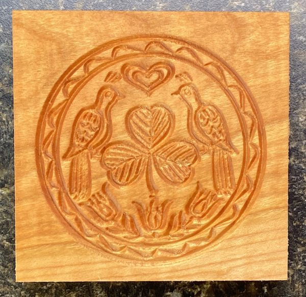 Springerle Cookie Mold - Irish Charm